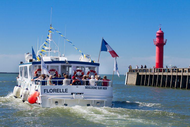 Visite du port de Boulogne en bateau