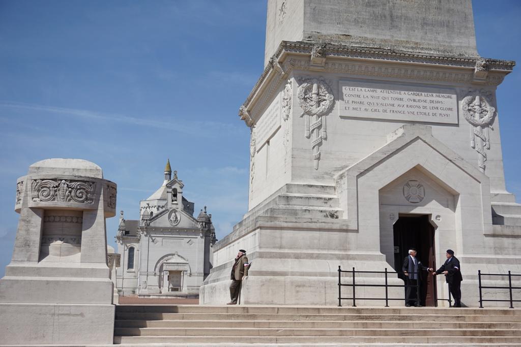 sentier du poilu monument commémoratif