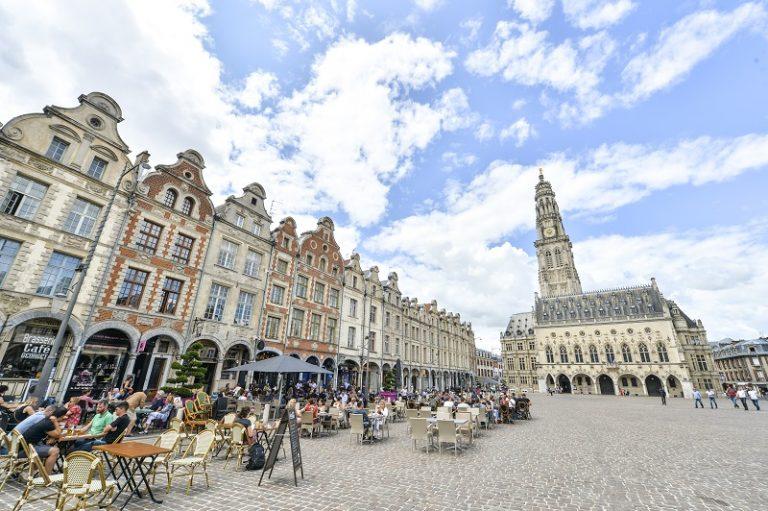 Place de l'Hôtel de ville d'Arras